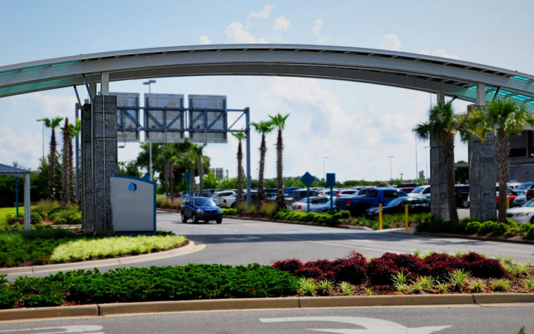 PENSACOLA INTERNATIONAL AIRPORT – COVERED WALKWAY
